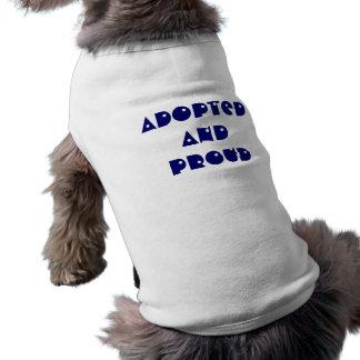 Adoptierter und stolzer HundeT - Shirt