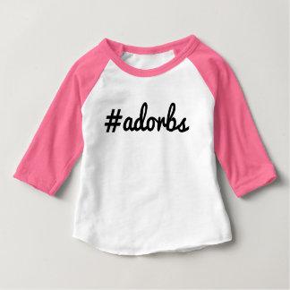 #Adorbs Baby T-shirt