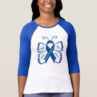 Adrenaler Unzulänglichkeits-Schmetterling T-Shirt