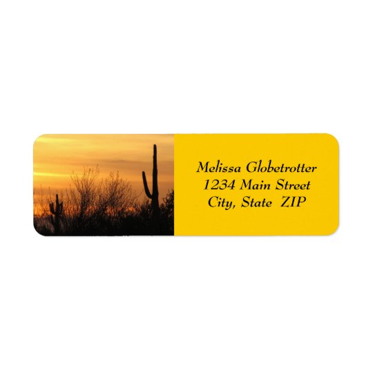 Adressen-Etiketten--Arizona Sunset-3