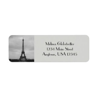 Adressen-Etiketten--Eifel Turm
