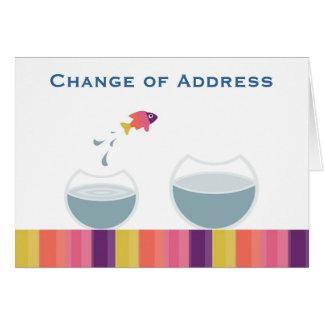 Adressenänderung Karte