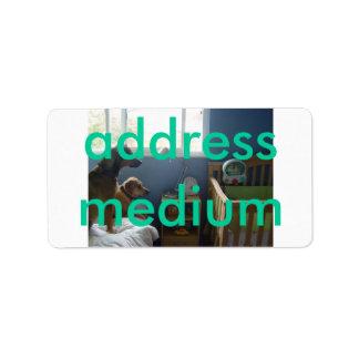 Adressenmedium Adressaufkleber