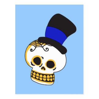 Adrettes Skelett Postkarte
