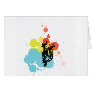 Adv, die Colorfull reiten Karte