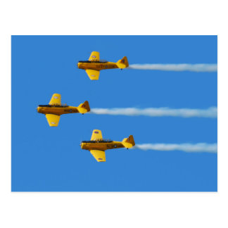 Aerobatic Team-Postkarte Kanadier-Harvards Postkarte