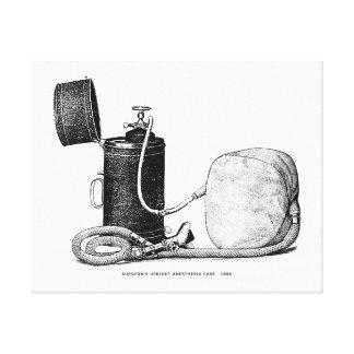 Affaire droite 1896 de l'anesthésie du chirurgien toiles