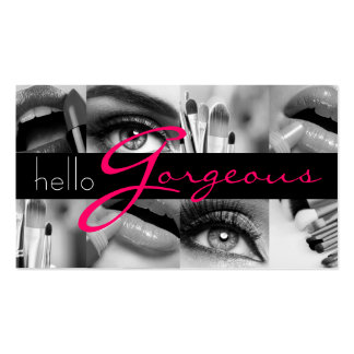 Affaires de beauté de salon de cosmétologie de carte de visite standard