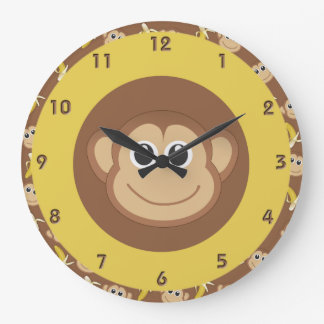 Affe-Bananen Uhr