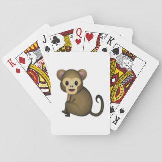 Affe - Emoji Spielkarten
