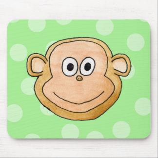 Affe-Gesicht Mousepads