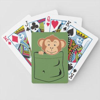 Affe in der Tasche Bicycle Spielkarten