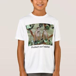 Affe-Lebensraum-T - Shirt