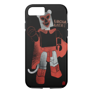 Affe Lucha Libre Telefonfall iPhone 8/7 Hülle