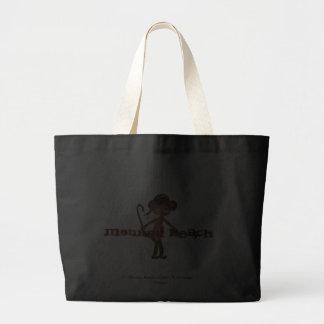 Affe-Strand est ® 2011 Do'minic entwirft Jumbo Stoffbeutel