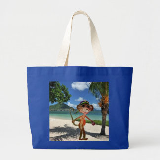 Affe-Strand-Handtasche Jumbo Stoffbeutel