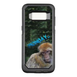 Affe traurig über Montag OtterBox Commuter Samsung Galaxy S8 Hülle