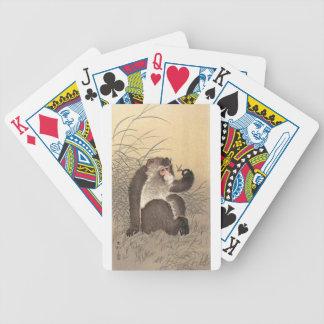 Affe und Schmetterling Bicycle Spielkarten