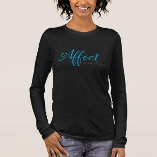 Affekt-erwachsene lange Hülse Langarm T-Shirt