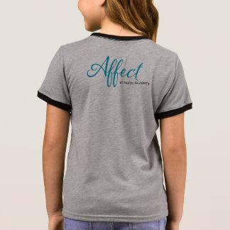 "Affekt-Kinder""Arbeits-"" T-Stück Ringer T-Shirt"