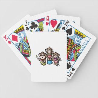 Affen-Felsen Bicycle Spielkarten