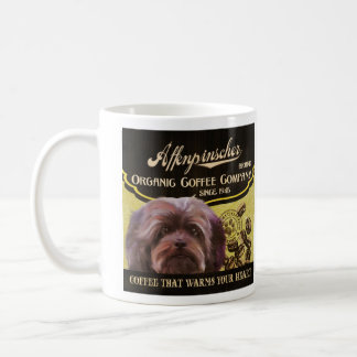 Affenpinscher-Marke - Organic Coffee Company Tasse