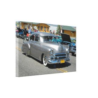 Affiche 1950 de Chevrolet Fleetline Toiles