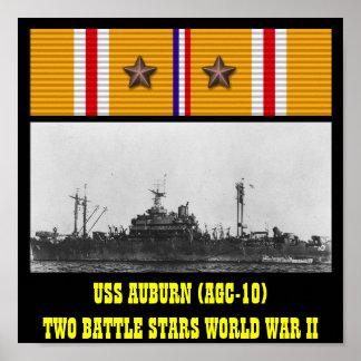 AFFICHE AUBURN D'USS (AGC-10)