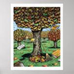 Affiche d'arbre de livre