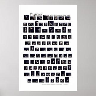 Affiche de 84 Asanas