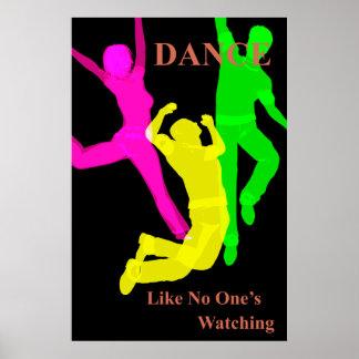 Affiche de danse