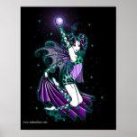 Affiche de fée d'arc-en-ciel de danse de Sepheria