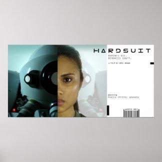 Affiche de film de Hardsuit