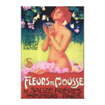 Affiche de Fleurs de Mousse Perfume Impressions Sur Toile