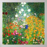Affiche de jardin d'agrément de Gustav Klimt