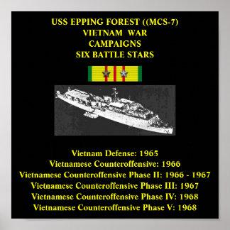 AFFICHE DE LA FORÊT D'USS EPPING (MCS-7)