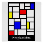 affiche de neoplasticism