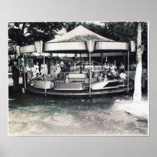 Affiche de parc d'attractions de San Souci