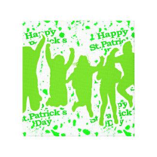 Affiche de partie de Jour de la Saint Patrick Toiles