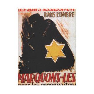 Affiche de propagande de Marquons-les Toiles
