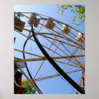 Affiche de roue de Ferris