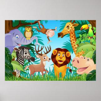 Affiche de safari
