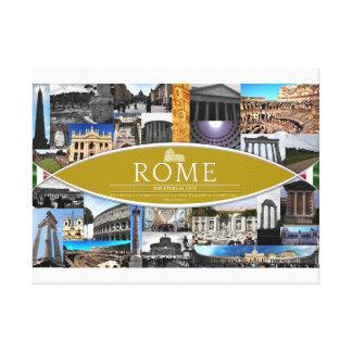 Affiche de toile avec des scènes de Rome Toiles