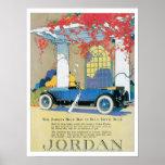 Affiche d'impression d'art d'AutomobileVintage de