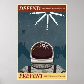 Affiche dixième de propagande de jeu électronique  posters