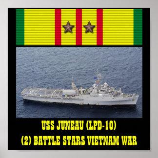 AFFICHE D'USS JUNEAU (LPD-10)