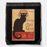 Affiche Noir de promo de chat noir de troupe de Sacs À Dos