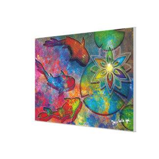 affiches-Alchimie-spirituelle Leinwanddruck