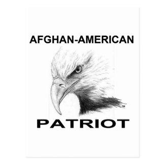 Afghanisch-Amerikanischer Patriot Postkarte