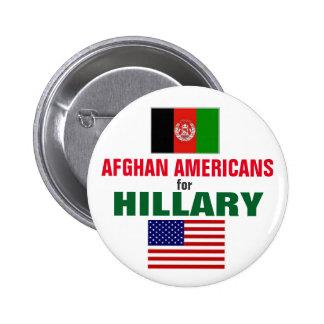Afghanische Amerikaner für Hillary 2016 Runder Button 5,7 Cm